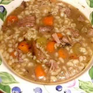 Beef and Barley Soup I