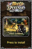 Screenshot of MD map: Elfish Goldland