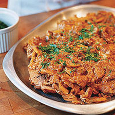 Braised Pork with Oranges