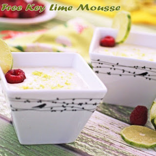 Dairy Free Key Lime Mousse