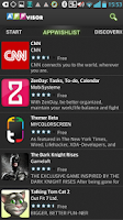 Screenshot of APPvisor