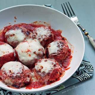 Hawaiian Pizza Spam Meatballs (Low Carb and Gluten Free)