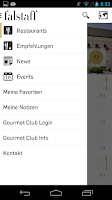 Screenshot of Restaurantguide Falstaff