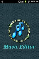 Screenshot of Music Editor