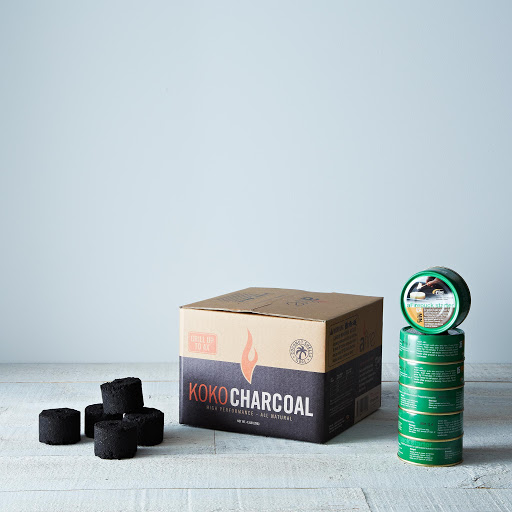 KOKO Charcoal (4.5 pounds) and Starter Pucks (6 pack)