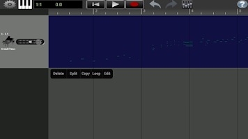 Screenshot of GrandPiano Pro