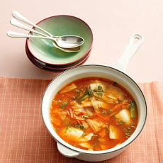 Kimchi Stew with Chicken and Tofu