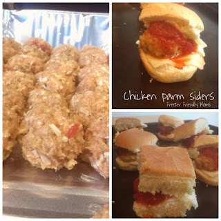 Chicken Parm Meatball Sliders