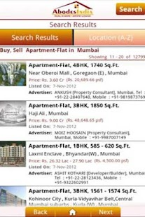 Abodes - Real Estate and Loans - screenshot