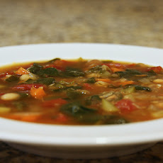 Zuppa Di Verdura (Italian Vegetable Soup)