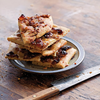 Bacon, Caramelized Onion, and Gruyere Focaccia