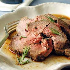 Leg of Lamb with Herbs and Mustard