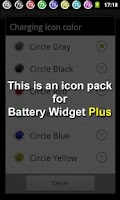 Screenshot of Battery Widget Icon Pack 2