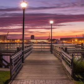 Daylight Creeping by Michael Otero - City,  Street & Park  City Parks ( normal, vibrant colors, 50mm, normallens, vibrant, d4, nikon df, flagship, nikond4, nikondf, nikonglass, df, sunrise, nikon )