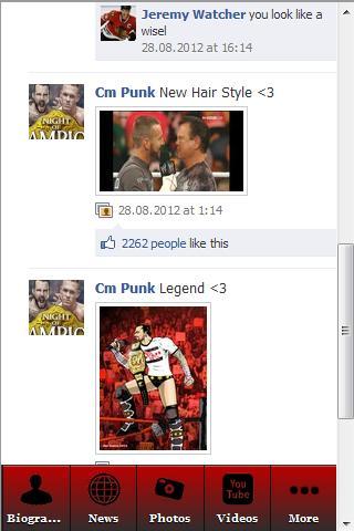 CM Punk Uncovered 運動 App-癮科技App