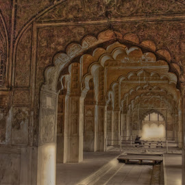 Deewan E Aam by Abhishek Pandey's PhotoGraphy - Buildings & Architecture Architectural Detail