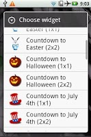 Screenshot of Countdown to Halloween