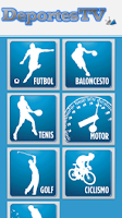Screenshot of DeportesTV