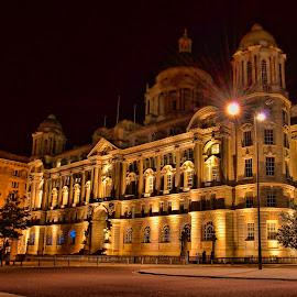 port of Liverpool by Derek Tomkins - Buildings & Architecture Public & Historical