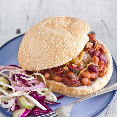 Two-Bean Sloppy Joes