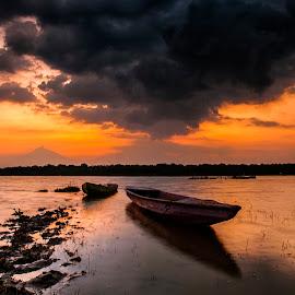 clasic transportation  by Tri Kurniawan - Transportation Boats