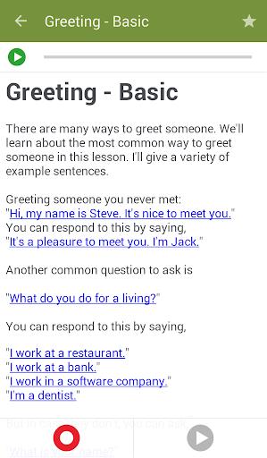 Learn to Speak English - screenshot