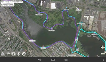Screenshot of AlpineQuest GPS Hiking (Lite)