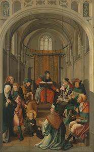 RIJKS: attributed to Meester van Alkmaar: painting 1535