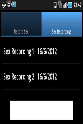 Sex Record
