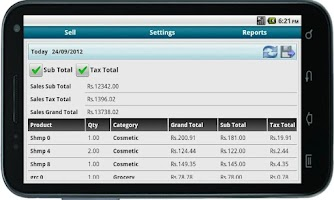 Screenshot of Bonrix Cash Register POS