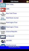 Screenshot of USA News in App FREE