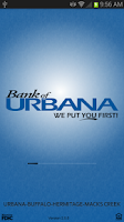 Screenshot of Bank of Urbana Mobile Banking