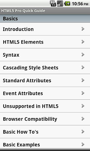 HTML5 Pro Quick Guide