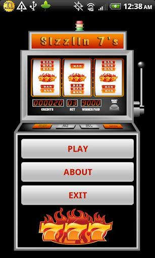 Sizzlin 7s Multi Slot Machine
