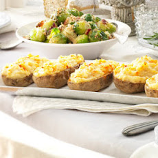Twice-Baked Potatoes Supreme