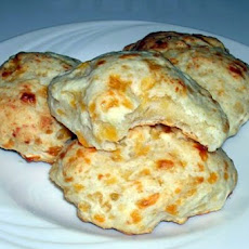 Three Cheese Garlic Biscuits
