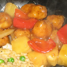 Sweet & Sour Popcorn Chicken