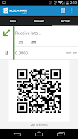 Screenshot of Bitcoin Wallet