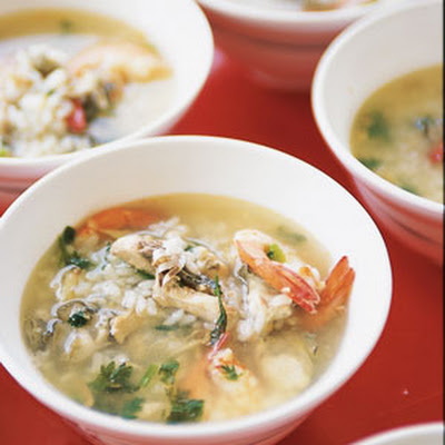 Seafood and Rice Soup