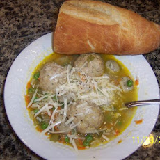 Double Chicken Dumpling Soup