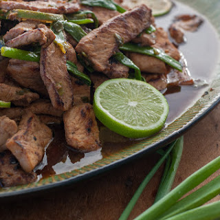 Pork Stir-Fry With Honey, Lime, and Ginger