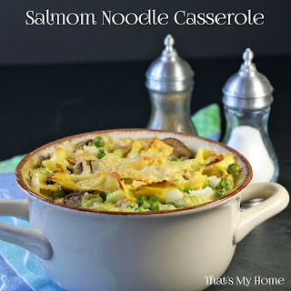 Salmon Casserole With Mushroom Soup Recipes