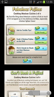 Screenshot of ChefVille Guide