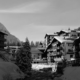 Lech am arlberg  by Michal Valenta - Abstract Macro