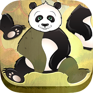 Free Kids Puzzle Game - Animal Icon