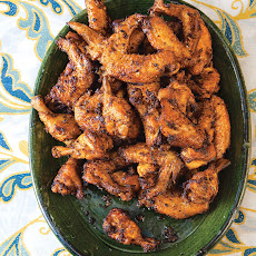 Indonesian Style Chicken Wings (Ayam Goreng Kuning)