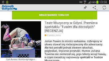 Screenshot of Dziennik Bałtycki