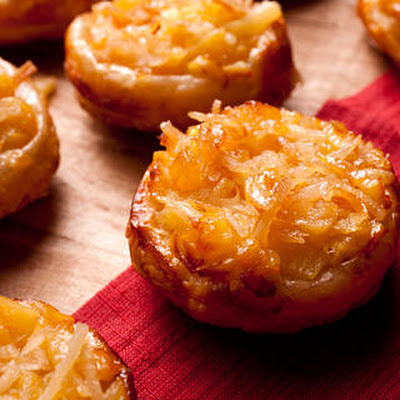 Pineapple-Coconut Tartlets