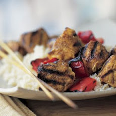 Spiced Chicken Kabobs (Turmeric)