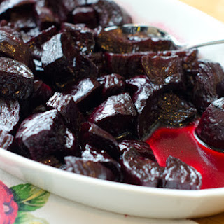 Balsamic-Glazed Roasted Beets